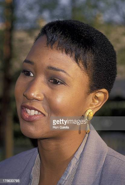 Mae Jemison attends the screening of All Good Things on May 19 1994 at Paramount Theater in Hollywood California