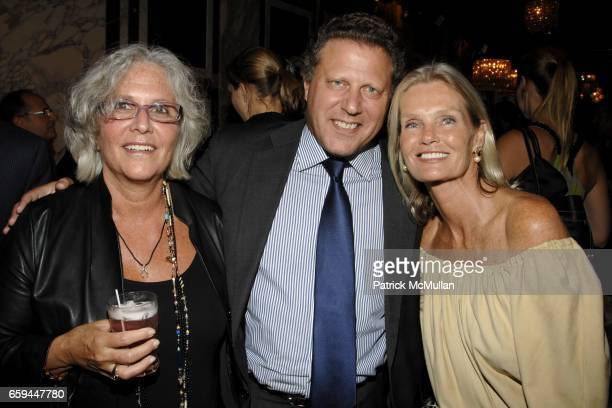 Mae Mougin Stuart Sundlun and Betsy Berry attend NANCY C DONAHUE and HARRY KING Host 70s and 80s Fashion Reunion Party at The Gates on September 22...
