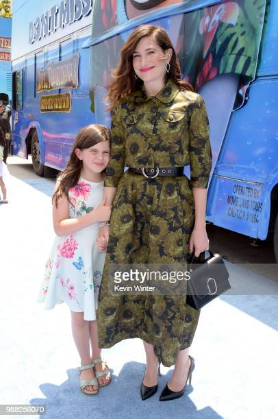 Mae Sandler and Kathryn Hahn attend the Columbia Pictures and Sony Pictures Animation's world premiere of 'Hotel Transylvania 3 Summer Vacation' at...