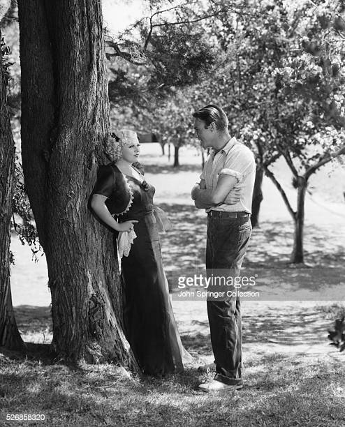 Mae West and Randolph Scott appeared together in the 1936 motion picture Go West Young Man
