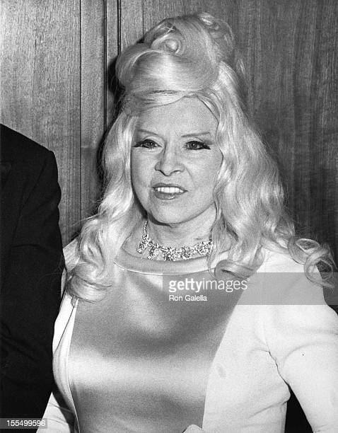 Mae West during Mae West File Photos by Ron Galella in Los Angeles California United States