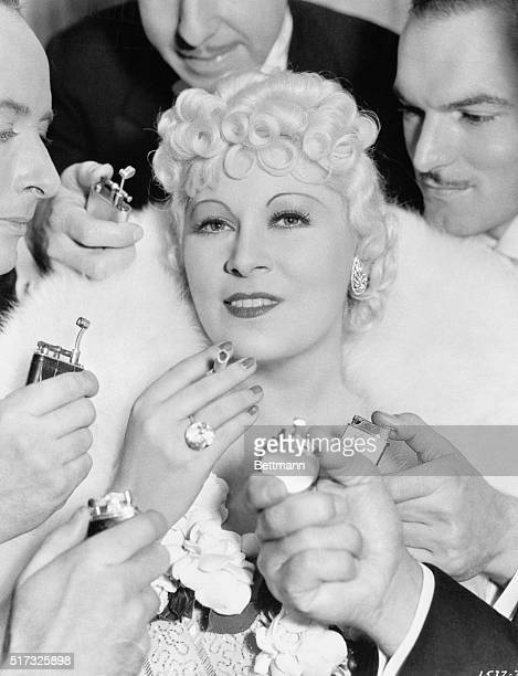 Mae West in Going to Town with Paul Cavanaugh. A Paramount picture.