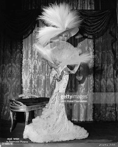 Mae West stars as Ruby Carter in the comedy western 'Belle of the Nineties' directed by Leo McCarey for Paramount