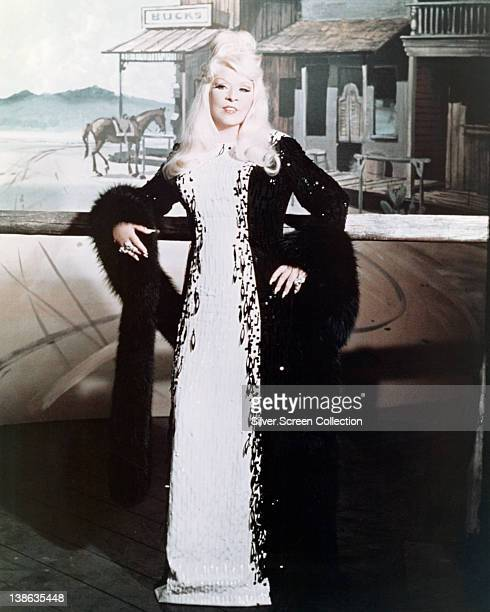 Mae West , US actress, in a publicity still issued for the film, 'Myra Breckinridge', 1970. The film, adapted from the novel by Gore Vidal and...