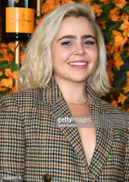 Mae Whitman arrives at the 9th Annual Veuve Clicquot Polo Classic Los Angeles at Will Rogers State Historic Park on October 6, 2018 in Pacific...