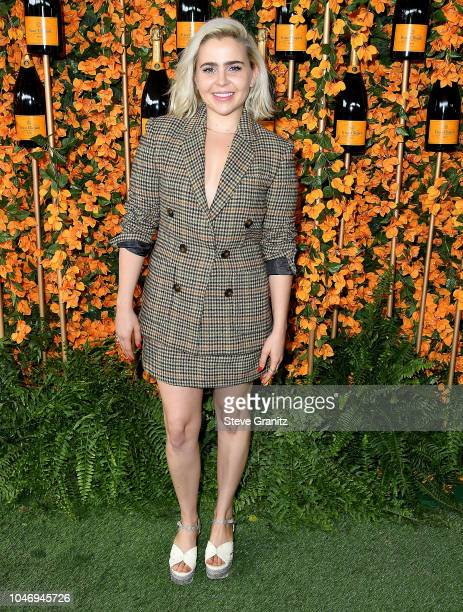 Mae Whitman arrives at the 9th Annual Veuve Clicquot Polo Classic Los Angeles at Will Rogers State Historic Park on October 6 2018 in Pacific...