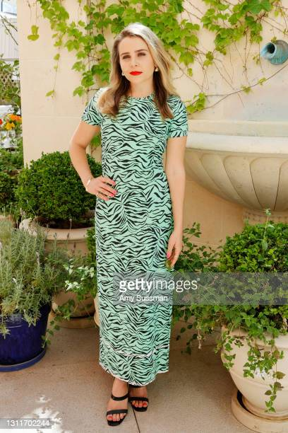 Mae Whitman attends Los Angeles Confidential Magazine celebrating Women of Influence on April 09, 2021 in Beverly Hills, California.