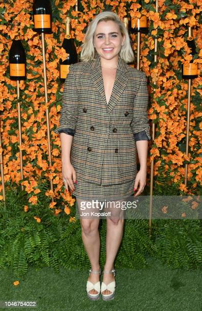 Mae Whitman attends the 9th Annual Veuve Clicquot Polo Classic Los Angeles at Will Rogers State Historic Park on October 6 2018 in Pacific Palisades...