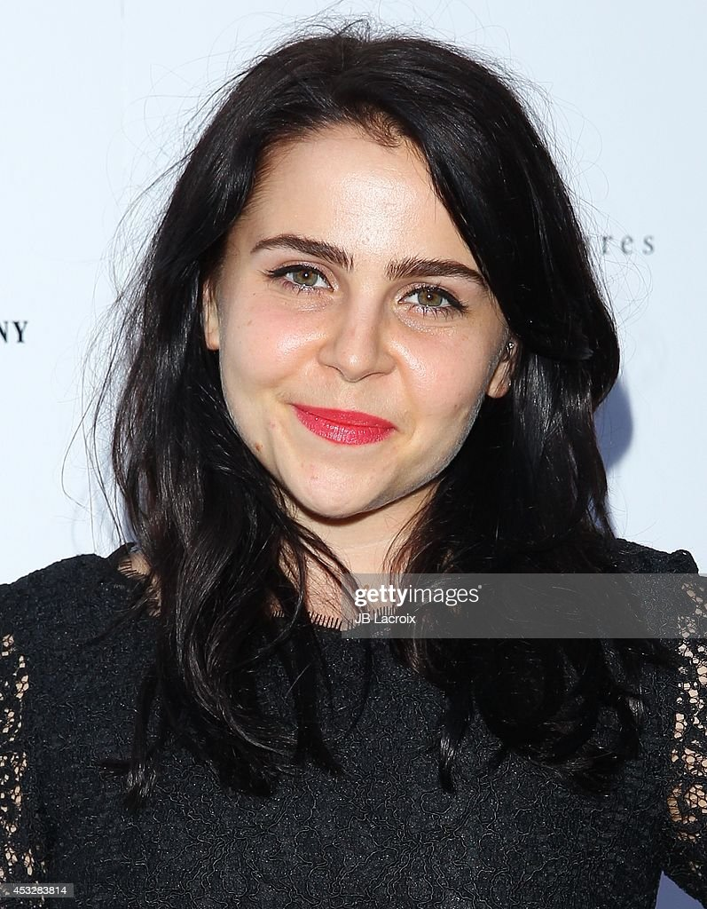 Mae Whitman attends the 'About Alex' Los Angeles premiere held at the Arclight Theater on August 6, 2014 in Hollywood, California.