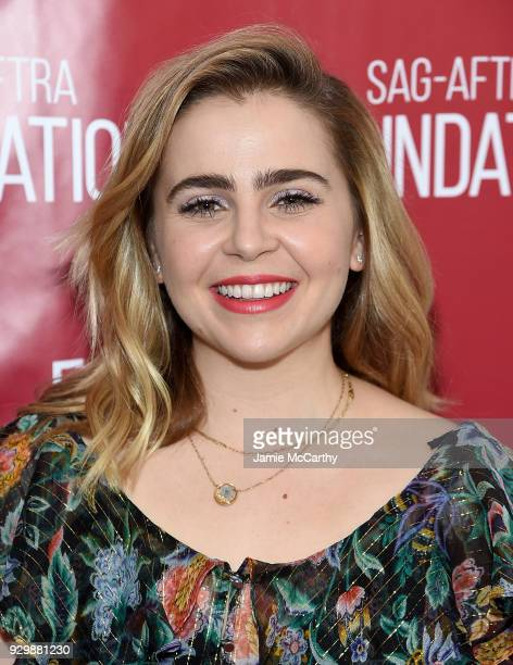 Mae Whitman attends the SAGAFTRA Foundation Conversations Good Girls at The Robin Williams Center on March 9 2018 in New York City