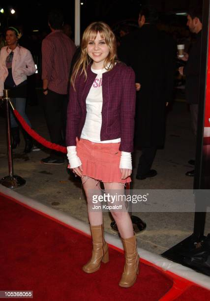 """Mae Whitman during """"Starsky & Hutch"""" World Premiere at Mann Village Theater in Westwood, California, United States."""