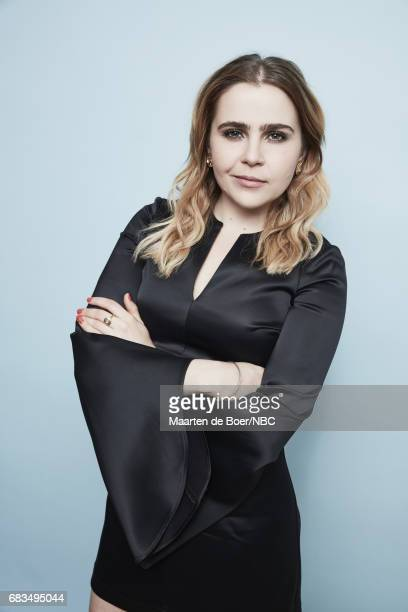 Mae Whitman of Good Girls poses for a photo during NBCUniversal Upfront Events Season 2017 Portraits Session at Ritz Carlton Hotel on May 15 2017 in...