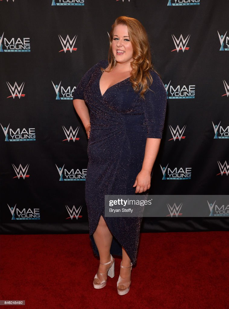 Mae Young Classic contestant Piper Niven appears on the red carpet of the WWE Mae Young Classic on September 12, 2017 in Las Vegas, Nevada.