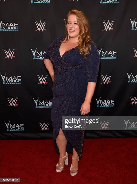 Mae Young Classic contestant Piper Niven appears on the red carpet of the WWE Mae Young Classic on September 12 2017 in Las Vegas Nevada