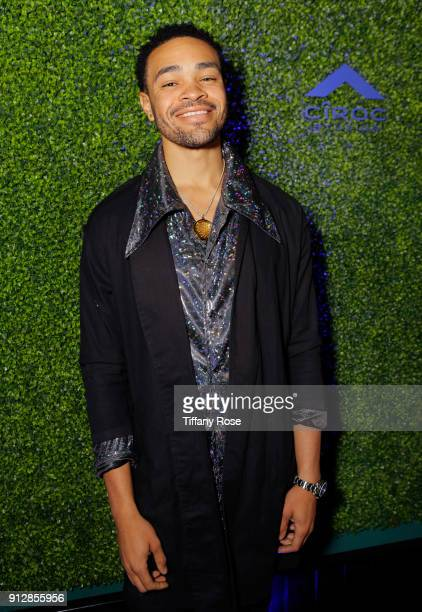 Maejor at CIROC Studios Launch Event hosted by DJ Khaled at the iconic Record Plant Studios on January 31 2018 in Hollywood California