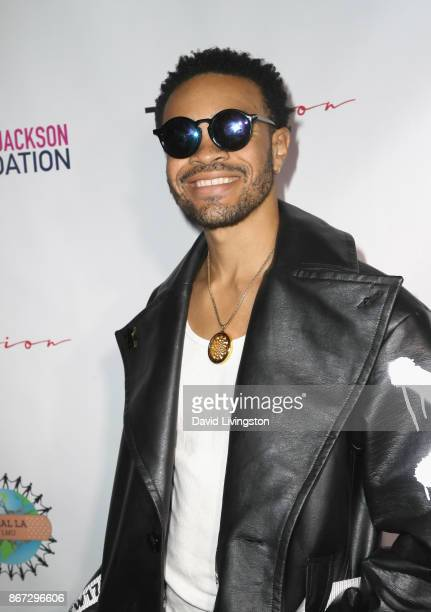 Maejor at Prince Jackson's Heal LA and TLK Fusion Present the 2nd Annual Costume for a Cause at Jackson Family Home on October 27 2017 in Encino...
