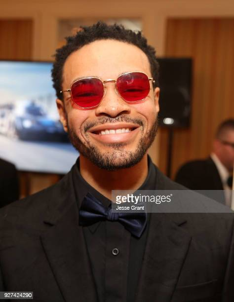 Maejor attends Byron Allen's Oscar Gala Viewing Party to Support The Children's Hospital Los Angeles at the Beverly Wilshire Four Seasons Hotel on...