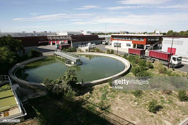 Maera water purification plant in the urban area of Montpellier