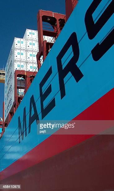 Maersk-Linie Frachtschiff Albert
