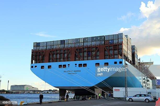 Maersk Line Triple-E Container ship Majestic Mærsk