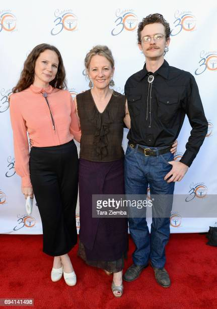 Maesa Pullman Tamara Pullman and Jack Pullman attend the 30th Anniversary Bridge Awards at The Millwick on June 8 2017 in Los Angeles California