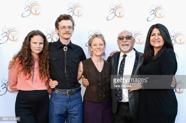Maesa Pullman Tamara Pullman Jack Pullman Jos Luis Valenzuela and Evelina Fernndez attend the 30th Anniversary Bridge Awards at The Millwick on June...