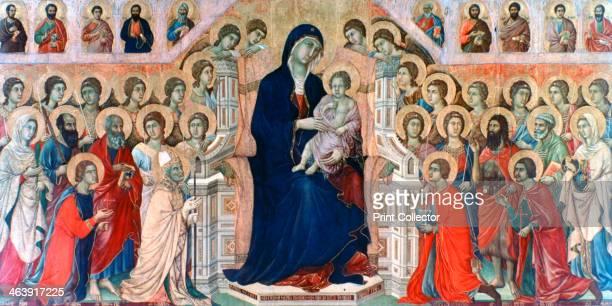 'Maestà' 13081311 Found in the collection of the Museo dell'Opera del Duomo Siena Italy