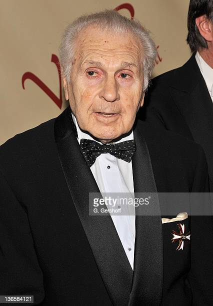 Maestro Julius Rudel attends the 56th annual Viennese Opera Ball at The Waldorf=Astoria on February 4 2011 in New York City