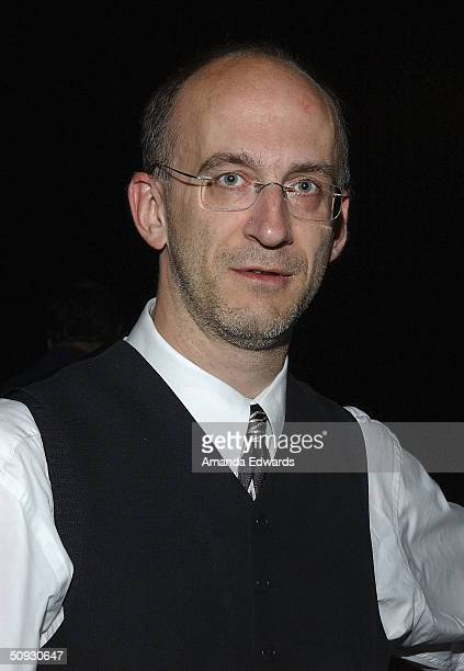 Maestro Timothy Brock poses at the 15th Anniversary of the Los Angeles Chamber Orchestra's Silent Film Festival on June 5 2004 at UCLA's Royce Hall...