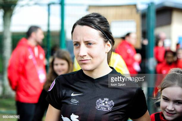 Maeva Clemaron of FC Fleury before the French Women Division 1 match between Fleury and Albi on March 11 2018 in Fleury France
