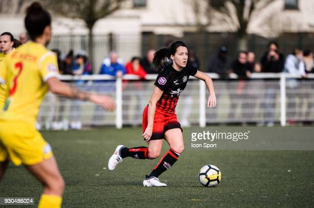 Maeva Clemaron of FC Fleury during the French Women Division 1 match between Fleury and Albi on March 11 2018 in Fleury France