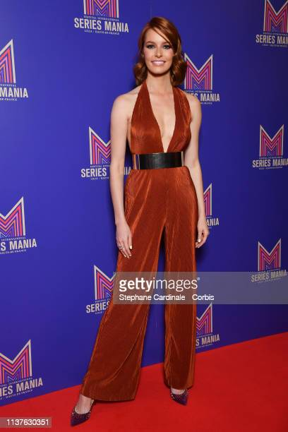 Maeva Coucke attends the Opening Ceremony of the 2nd Series Mania Festival In Lille on March 22 2019 in Lille France