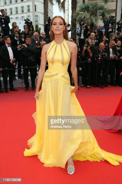 Maeva Coucke attends the screening of Les Plus Belles Annees D'Une Vie during the 72nd annual Cannes Film Festival on May 18 2019 in Cannes France