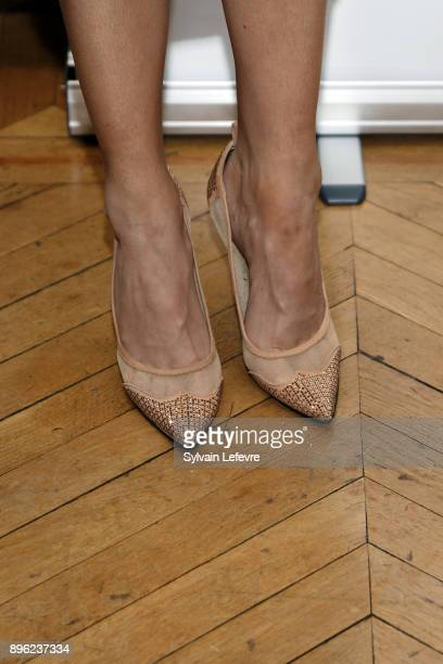 Maeva Coucke Miss France 2018 attends official ceremony on December 20 2017 in Lille France
