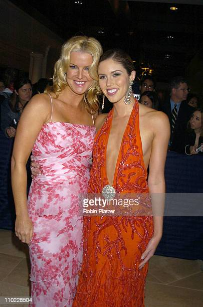 Maeve Quinlan and Kayla Ewell during 32nd Annual Daytime Emmy Awards Outside Arrivals at Radio City Music Hall in New York City New York United States