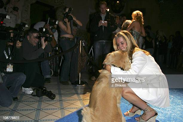 Maeve Quinlan during 7th Annual 'Paws for Style' Celebrity Pet Fashion Benefiting Animal Medical Center at The Avalon Theater in Los Angeles...