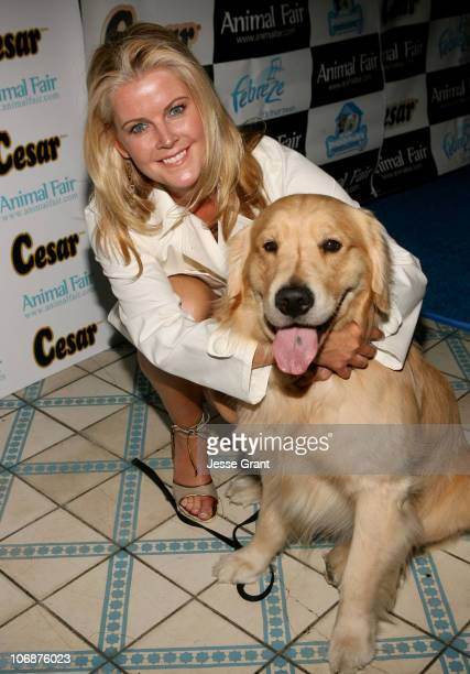 Maeve Quinlan during CESAR Canine Cuisine Sponsors Animal Fair's 7th Annual 'Paws for Style' Celebrity Pet Fashion Show Benefiting Animal Medical...