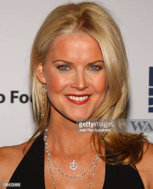 Maeve Quinlan during City of Hope 2005 Award of Hope Gala Arrivals at Beverly Hilton Hotel in Beverly Hills California United States