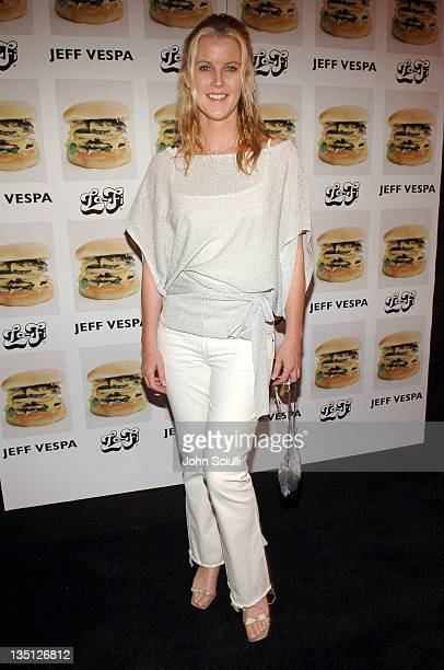 Maeve Quinlan during Jeff Vespa's 'Eat Me' Art Show Opening at The Gallery at LoFi in Los Angeles California United States