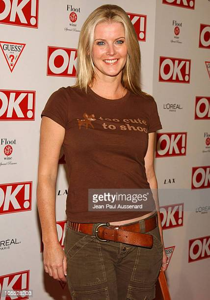 Maeve Quinlan during Ok Magazine US Debut Launch Party Arrivals at LAX in Hollywood California United States