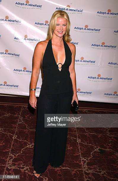Maeve Quinlan during The 3rd Annual AdoptAMinefield Benefit Gala at Beverly Hilton Hotel in Beverly Hills California United States