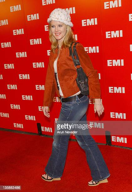 Maeve Quinlan during The 46th Annual Grammy Awards EMI Post Grammy Party at Los Angeles County Museum of Art in Los Angeles California United States
