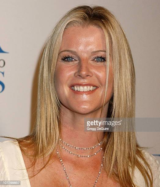 Maeve Quinlan during The Museum of Television Radio Honors Peter Chernin and John Wells at its Annual Los Angeles Gala Arrivals at Beverly Hilton...