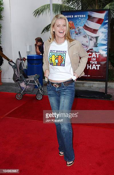 Maeve Quinlan during World Premiere of 'The Cat In The Hat' at Universal Studios Cinemas in Hollywood California United States