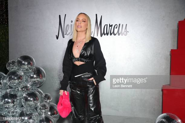 """Maeve Reilly attends the Neiman Marcus Celebrates The Launch Of Their """"Celebrate Big, Love Even Bigger"""" Holiday Campaign With 2021 Fantasy Gift Event..."""