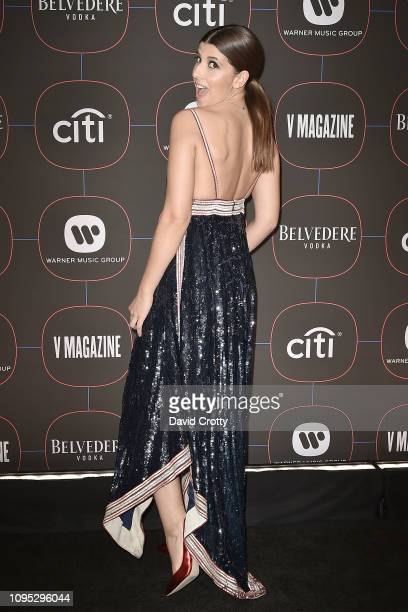 Mafalda attends the Warner Music Group PreGrammy Celebration at Nomad Hotel Los Angeles on February 7 2019 in Los Angeles California