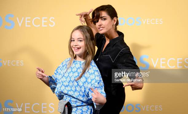 Mafalda Carbonell and Inma Cuesta attend Vivir Dos Veces Madrid Photocall on September 02 2019 in Madrid Spain