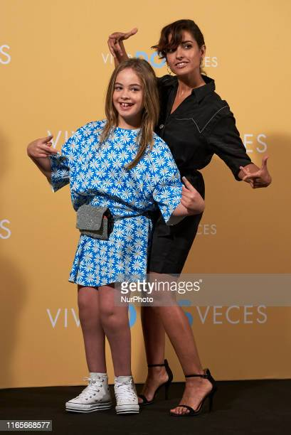 Mafalda Carbonell and Inma Cuesta attends the 'Vivir dos veces' Photocall at Urso Hotel in Madrid Spain on Sep 2 2019
