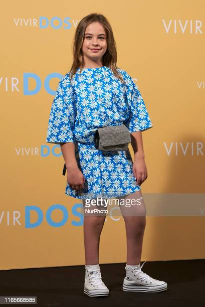 Mafalda Carbonell attends the 'Vivir dos veces' Photocall at Urso Hotel in Madrid Spain on Sep 2 2019