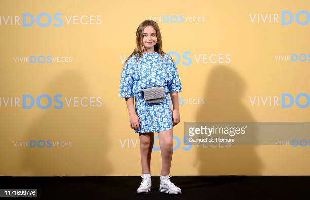 Mafalda Carbonell attends Vivir Dos Veces Madrid Photocall on September 02 2019 in Madrid Spain